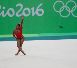 Simone Biles Overcomes Life in Shadow of Addiction
