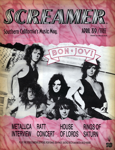 Screamer Magazine April 1989