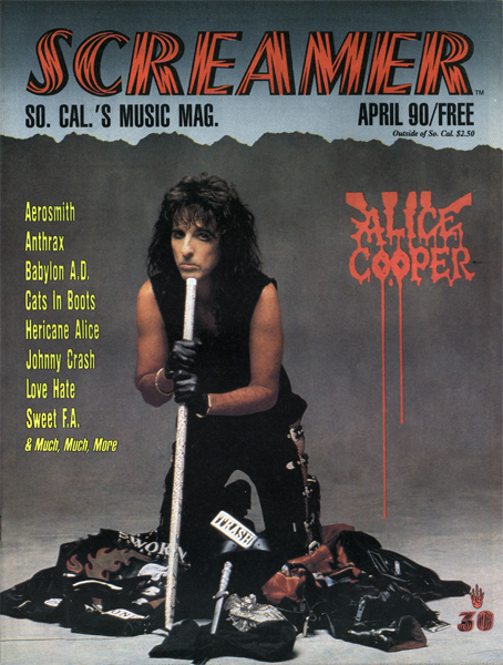 Screamer Magazine April 1990