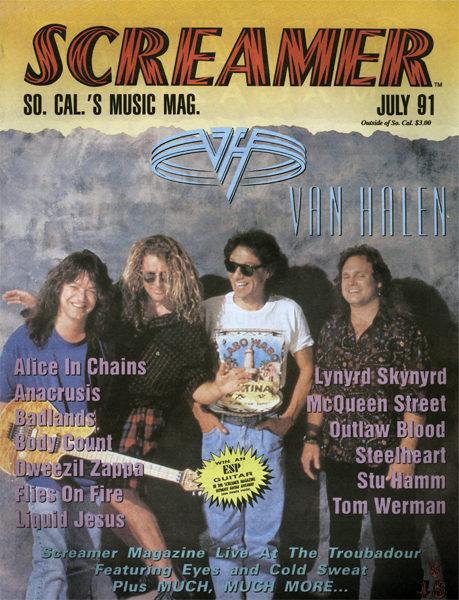 Screamer Magazine July 1991