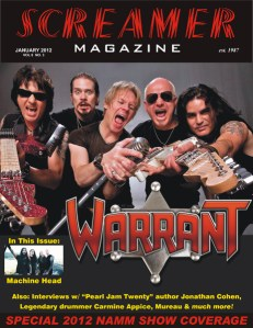 Screamer Magazine January 2012