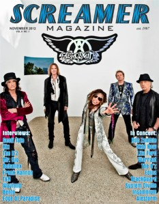 Screamer Magazine November 2012