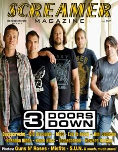 Cover 3 Doors Down Dec 2012 medium
