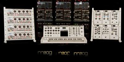 Moog Music WhiteFamily