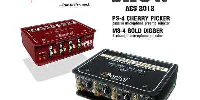 Radial Engineering Best of Show AES 2012