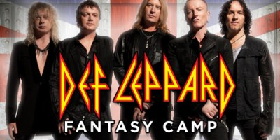 Def Leppard Fantasy Camp
