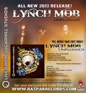 Lynch Mob -PRE-ORDER_UNPLUGGED