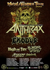 Metal Alliance Tour Poster