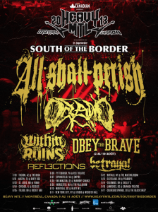 All Shall Perish Tour
