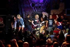 Kari Hagar, Denny Carmassi, Michael Anthony and The Wabos rock out at Hagar's annual Birthday Bash at Cabo Wabo Cantina, Sunday