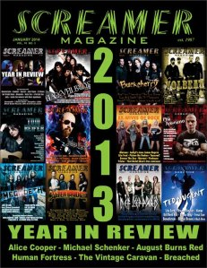 Screamer Magazine January 2014