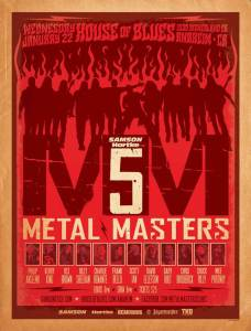 Metal Masters 5 poster