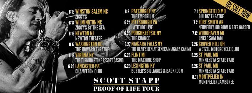 STAPP LIVE TOUR 5-29-14