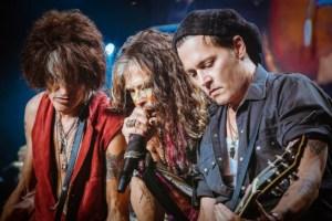 Aerosmith Johnny Depp 7-16-14