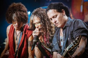 Aerosmith Johnny Depp 7-16-14