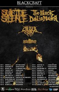 SUICIDE SILENCE TOUR POSTER 9-20-14