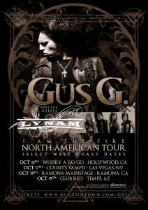 GUS G. LYMAN TOUR 10-1-14