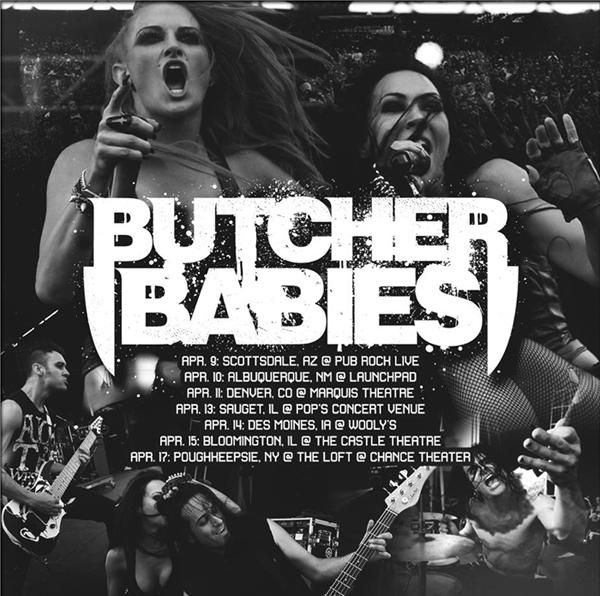Butcher Babies Poster 2015 B crop