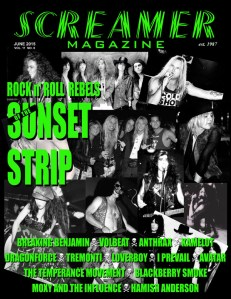 Screamer Magazine June 2015