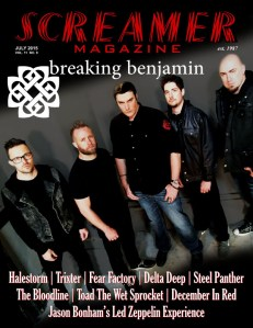 Screamer Magazine July 2015