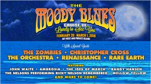 THE MOODY BLUES CRUISE  III 6-16-15
