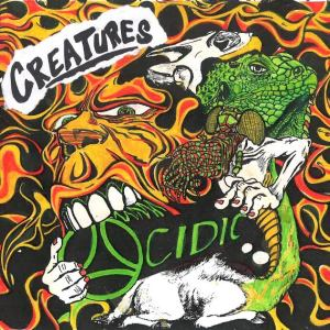 ACIDIC CREATURES CD COVER ART