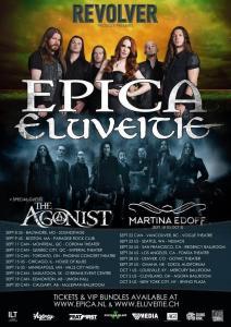 EPICA-ELUVEITIE TOUR 7-29-15
