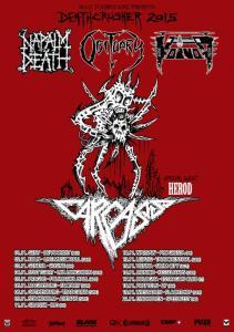 VOIVOD TOUR POSTER 7-24-15