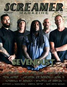 Screamer Magazine October 2015