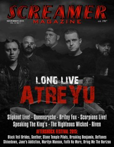 Screamer Magazine November 2015