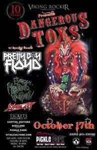 Dangerous Toys Poster 2