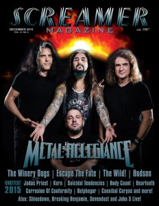 Screamer Magazine December 2015