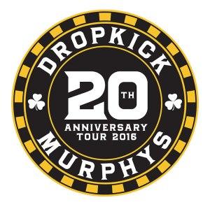 Dropkick Murphys 20 Anniversary Logo