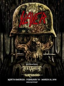Slayer Poster 2016
