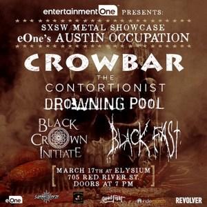 Crowbar poster SXSW 2016