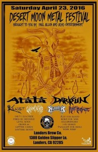 Desert Moon Metal Festival