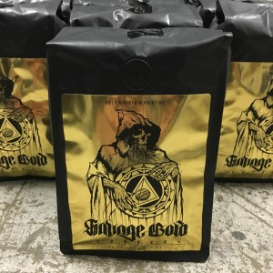 Tombs Savage Gold coffee crop