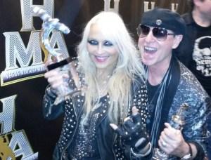 DORO & Klaus Meine (Scorpions) Photo Credit: Gordeon