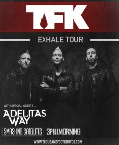 Thousand Foot Krutch poster