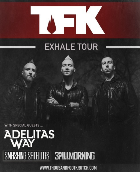 """Thousand Foot Krutch Releases """"Push"""" To Radio July 12 - Screamer"""