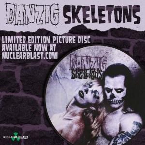 Danzig Skeletons pix disc
