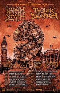 Naplam Death poster 2016