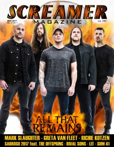 Screamer Magazine May 2017