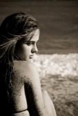 Bronzed Beach Angel