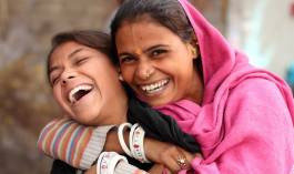 Laughter. Express photo by Cheena Kapoor