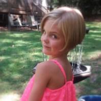 short hair pink