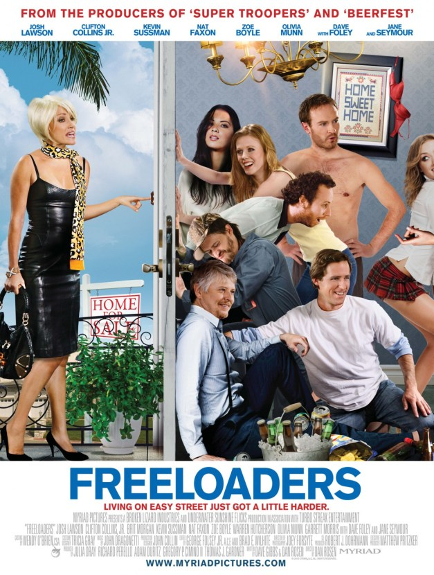 Check Out The Official Trailer For Broken Lizard Produced 'Freeloaders' 6