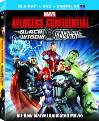 [Blu-Ray Review] 'Avengers Confidential: Black Widow & Punisher' is a must see for Punisher and Avengers fans alike; Own it on Blu-Ray Combo Pack & DVD today from Sony/Marvel/Madhouse 1