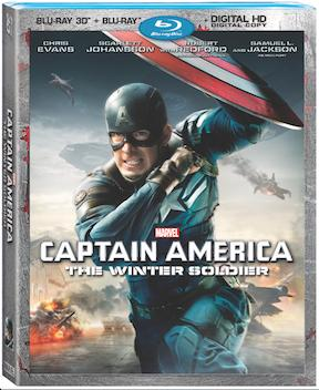 =UPDATED WITH ANNOUNCEMENT TRAILER= 'Marvel's Captain America: The Winter Soldier' arrives on Disney Movies Anywhere on August 19th and on 3D Blu-ray Combo Pack on September 9th, 2014! 19