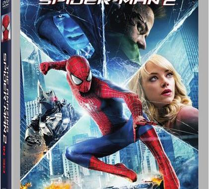 'The Amazing Spider-Man 2' Swings Home; Get It Early on Digital HD Aug. 5 & on Blu-ray 3D, Blu-ray & DVD Aug. 19 From Sony/Marvel 15